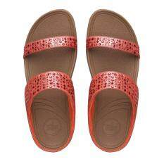 Fitflop รองเท้าแตะผู้หญิง Novy Slide สี210 Flame เป็นต้นฉบับ