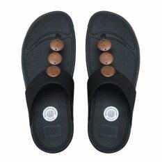 ขาย Fitflop รองเท้าแตะหญิง Petra สี 001 All Black ใน กรุงเทพมหานคร