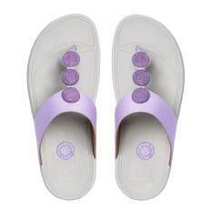 ทบทวน ที่สุด Fitflop รองเท้าแตะหญิง Petra Sugar สี 340 Dusty Lilac
