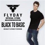 ความคิดเห็น Flyday Black To Basic เสื้อยืดสีพื้นสีดำคุณภาพดี