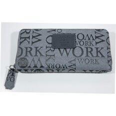 ทบทวน Flynow Work กระเป๋าสตางค์ รุ่น 12 08 00 50012 5 สี Grey