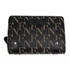 ขาย Fn Bag กระเป๋าสตางค์สำหรับผู้หญิง Wallet 12 08 00 50132 7 Col Black เป็นต้นฉบับ