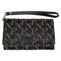 ราคา Fn Bag กระเป๋าสตางค์สำหรับผู้หญิง Wallet 12 08 00 50133 7 Col Black Flynow สมุทรปราการ