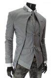 ขาย Following เสื้อสูทผู้ชาย รุ่น Hs52G Grey ราคาถูกที่สุด