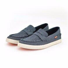ซื้อ Oneprice Footin รองเท้าผู้ชาย รองเท้าผ้าใบแฟชั่น Mens Casual Lifestyle สีน้ำเงิน รหัส 8809976 Bata ถูก
