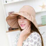 ซื้อ Freebang Women Large Wide Brim Hat Summer Uv Protect Sun Beach Foldable Roll Up Visor Cap ออนไลน์ ถูก