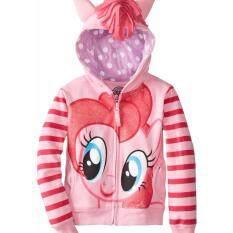ซื้อ Friendly4Kid เสื้อแจ็คเก็ตแขนยาว เสื้อกันหนาว Pony สีชมพู ถูก