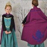 โปรโมชั่น ชุดเจ้าหญิง เอลซ่า Frozen แขนยาว เสื้อคลุม ไซต์ 100 140 9637 ถูก