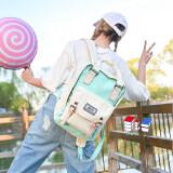ส่วนลด สินค้า Ftshop กระเป๋าเป้สะพายหลัง กระเป๋าแฟชั่น กระเป๋าใบใหญ่ กระเป๋าเดินทาง กระเป๋าสะพายหลัง กระเป๋าเป้เท่ๆ รุ่น 110Cสีขาว เขียว