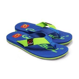 GAMBOL แกมโบล รองเท้าแตะ (นุ่ม) รุ่น GM11283 - สีน้ำเงิน-