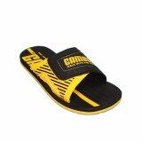 ราคา Gambol แกมโบล รองเท้าแตะ รุ่น Gm13023 สีดำ เหลือง ใน กรุงเทพมหานคร