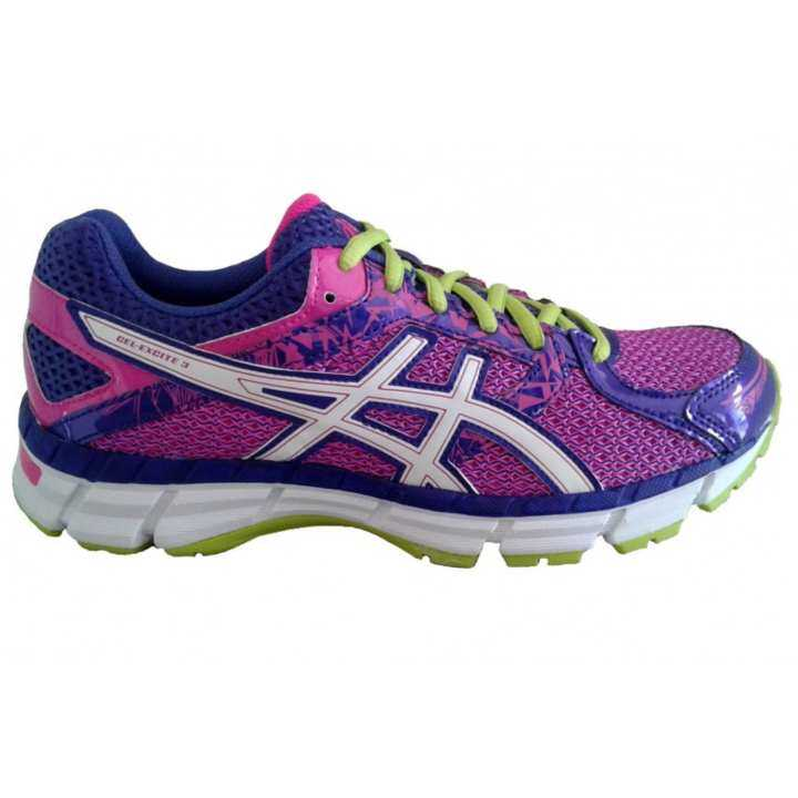 Asics Women Running Shoes รองเท้าวิ่งผู้หญิง GEL-EXCITE 3-PINK GLOW/WHITE/BLUEBERRY-WOMEN