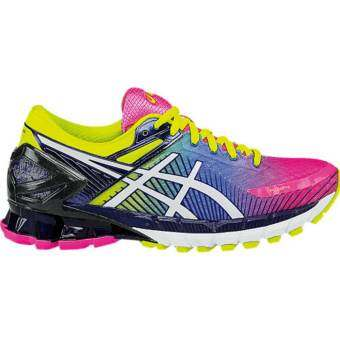 Asics Women Running Shoes รองเท้าวิ่งผู้หญิง GEL-KINSEI 6-HOT PINK/WHITE/FLASH YELLOW-WOMEN