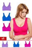 ส่วนลด สินค้า Genie Bra ชุดชั้นใน เสื้อชั้นใน Underware Set 6 ตัว Colorful Color ฟ้า ชมพู ม่วง
