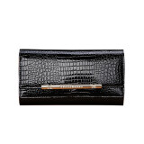 ราคา Genuine Wallet Chain Evening Bag Ladies Clutch Bag Black Intl Unbranded Generic เป็นต้นฉบับ