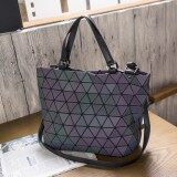 ทบทวน Geometric Bao Lei Radio Women S Bag New Style Bag Night Light Color Night Light Color Intl