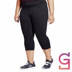 โปรโมชั่น Get Along กางเกงฟิตเนส ไซส์ใหญ่ Plussize 5 ส่วน ผ้าสเปนเดก สีดำ กรุงเทพมหานคร
