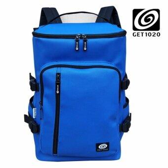 GET1020 กระเป๋าเป้ กระเป๋าสะพาย แฟชั่น VP674lacos (น้ำเงิน)
