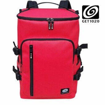 GET1020 กระเป๋าเป้ กระเป๋าสะพาย แฟชั่น VP674lacos (แดง)