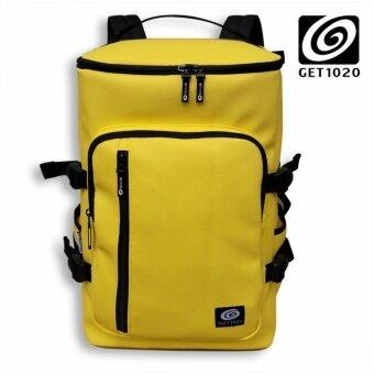 GET1020 กระเป๋าเป้ กระเป๋าสะพาย แฟชั่น VP674lacos (เหลือง)