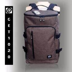 ราคา Get1020 กระเป๋าเป้ กระเป๋าสะพาย แฟชั่น Vp674Oxford น้ำตาล ใหม่