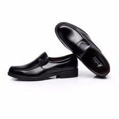 ราคา Gion รองเท้าผู้ชาย รองเท้าผู้ชาย รุ่น Hys 003 Black สีดำ ใหม่ล่าสุด