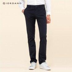ราคา ราคาถูกที่สุด Giordano Men Inno Khakis 01117016 สีฟ้า