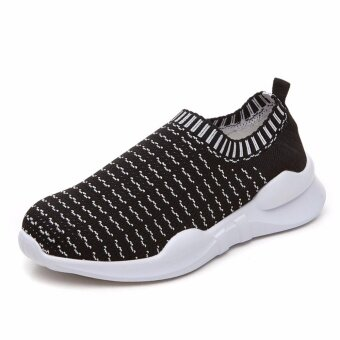 Girls Loafers Slip Ons Fashion Women Sneakers Flat Shoes Parent Kid Matching Shoes - intl
