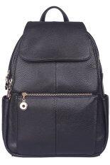 ซื้อ Girly Bags กระเป๋าเป้สะพายหลัง กระเป๋าเป้เกาหลี กระเป๋าสะพายหลังผู้หญิง Backpack Women รุ่น Gp 065 สีดำ ออนไลน์