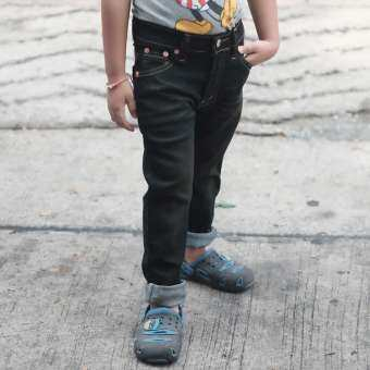 Golden Zebra Jeans กางเกงยีนส์เด็กผ้ายืดสีสนิมด่าง