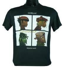 ขาย เสื้อวง Gorillaz เสื้อยืดวงดนตรีร็อค เสื้อร็อค กอริลลาซ Grl585 สินค้าในประเทศ ถูก ไทย