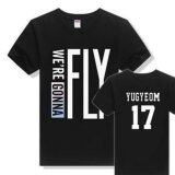 ราคา Got7 Fly In Japan Osaka Concert Short Sleeve T Shirt Men And Women Summer Clothes Black Yugyeom Intl ใหม่ล่าสุด