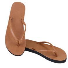 ส่วนลด Gracefulvara คนรักคู่รักเพศอีวารองเท้าแตะรองเท้าสานรองเท้าแตะหาดจอมทองบ้านแผ่นกระจกและล่อ สีน้ำตาล Thailand