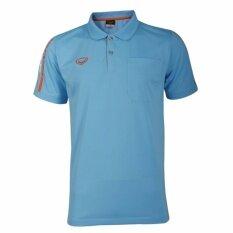 ขาย ซื้อ Grand Sport เสื้อโปโลชายลายพิมพ์ที่แขน สีฟ้า