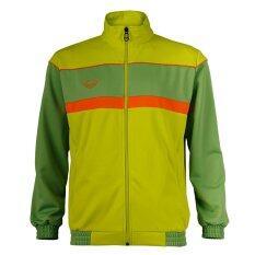 ราคา Grand Sport เสื้อวอร์มแกรนด์สปอร์ต สีเขียว ที่สุด
