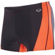 โปรโมชั่น Grand Sport กางเกงว่ายน้ำชายขาสั้น สีดำ ส้ม Grand Sport