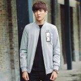ราคา Grandwish Men Fashion Men Jacket Men Face Pattern Lightweight Coat M 3Xl Light Grey Intl Unbranded Generic ออนไลน์