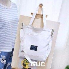 Gucกระเป๋าผ้าสะพายข้างถอดสายได้(guc-B315).
