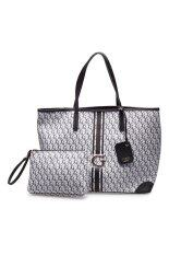 ส่วนลด Guess กระเป๋าสะพายข้างผู้หญิง รุ่น G Cube Black Guess