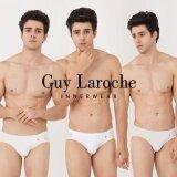 ราคา Guy Laroche กางเกงในชาย 3 Piece Pack Cotton Band B*k*n* เป็นต้นฉบับ