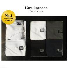 ซื้อ Guy Laroche เซ็ทกางเกงในชาย Seamless B*K*N* 4 ชิ้น สีMix และแถมฟรี Quick Dry 2 ชิ้น ออนไลน์ ถูก