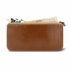 โปรโมชั่น Gvinc กระเป๋าสตางค์ หนังแท้ Cenci Money Case สีกาแฟ กรุงเทพมหานคร