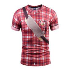 ซื้อ เสื้อยืด H1 Z1 สีดำเกมบอททอมเสื้อผ้าฝ้ายแขนสั้น 886 ฮ่องกง