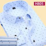 ขาย เวอร์ชั่นเกาหลีบางชนิดส่วนบางแขนยาวเสื้อลำลองลายสก๊อตเสื้อ H805 Unbranded Generic ผู้ค้าส่ง