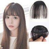 ราคา Hairpiece แฮร์พีช หน้าม้าซีทรู สไตล์เกาหลี 01 สีดำ ออนไลน์