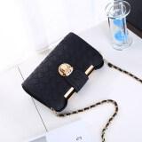 ขาย Haiyi ของ Messenger กระเป๋าแฟชั่นฤดูร้อนวรรคกระเป๋าถือที่นิยมเพศหญิง สีดำ เป็นต้นฉบับ