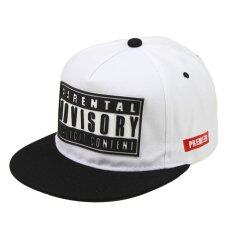 ซื้อ Hang Qiao Couples Baseball Cap Letter Print Hip Hop Hats White And Black Intl ถูก จีน