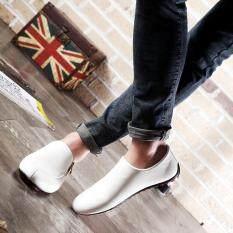 ขาย ได้แก่เฉียวแฟชั่นผู้ชายรองเท้าลำลองรองเท้าถั่วรองเท้าขับรองเท้าขาว จีน