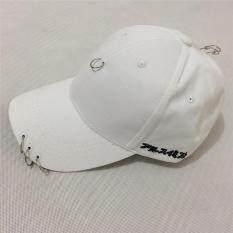 ได้แก่ เฉียวหมวกเบสบอลแฟชั่นญี่ปุ่นเพศสามห่วงหมวก ขาว จีน