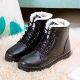 ราคา Hanyu Women S รองเท้าบูท Snow Boots Martin Boots รองเท้ากันแดด Ladis สีดำขนาด 35 Hanyu จีน
